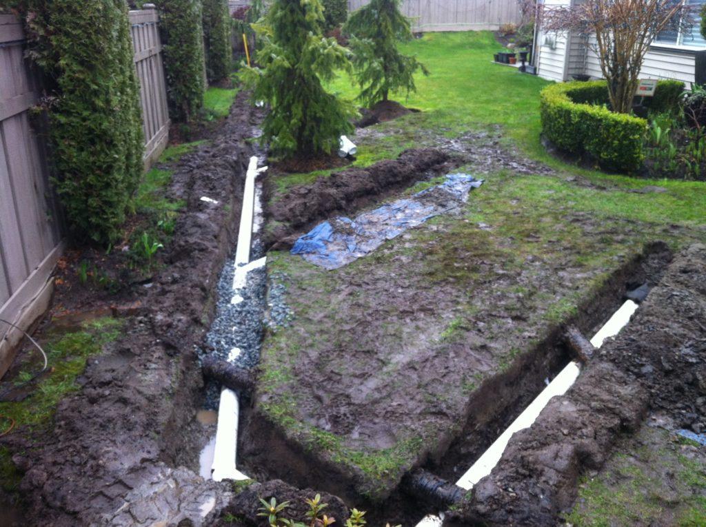 garden drain system