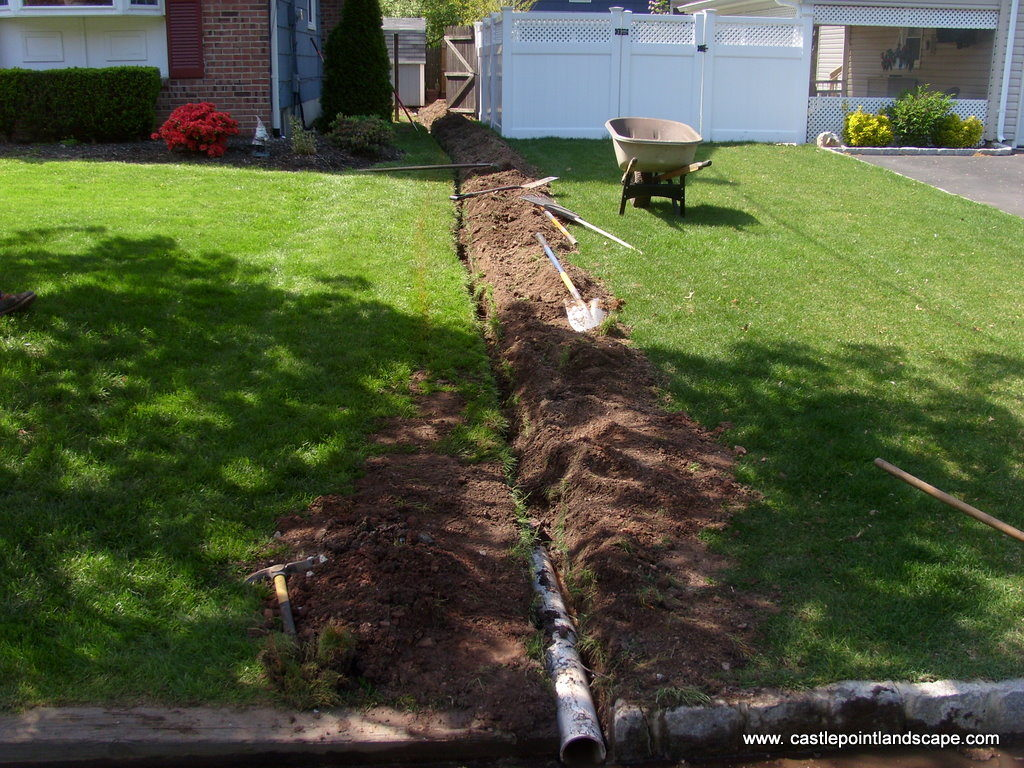 garden drain