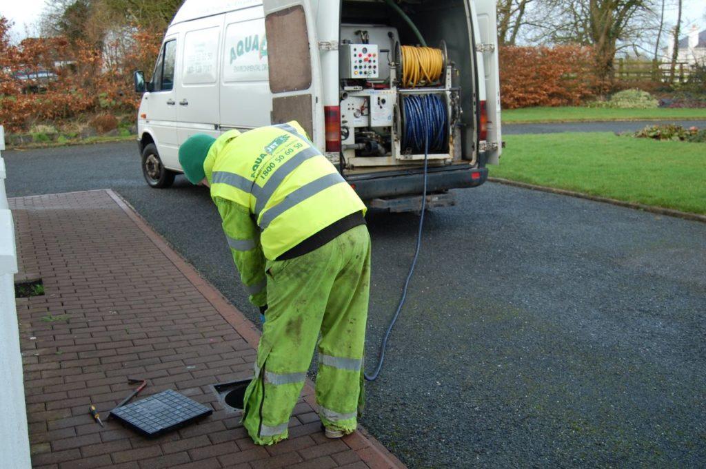 drain pump operative